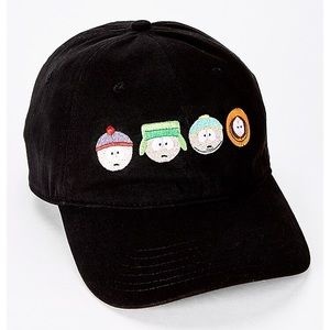 (NEW) South Park Hat with adjustable buckle